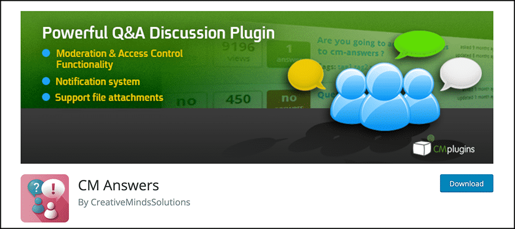 CM Answers plugin