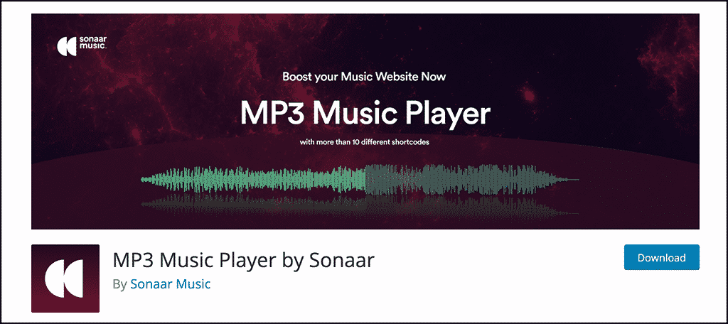 MP3 Music Player by Sonaar