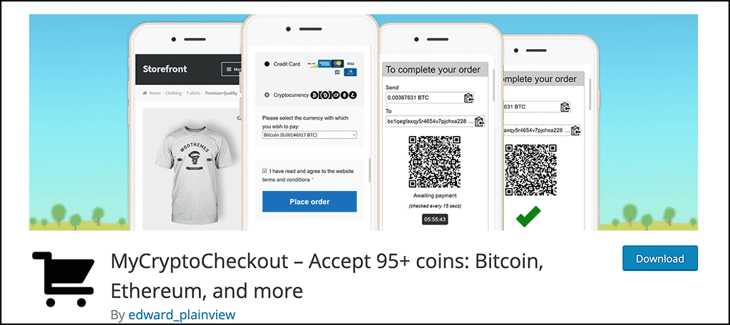 MyCryptoCheckout plugin