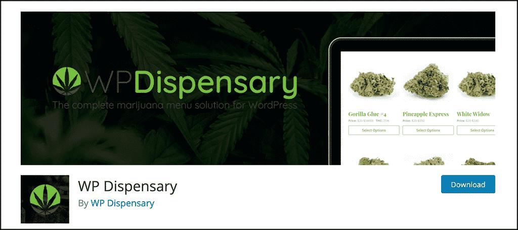 WP Dispensary plugin