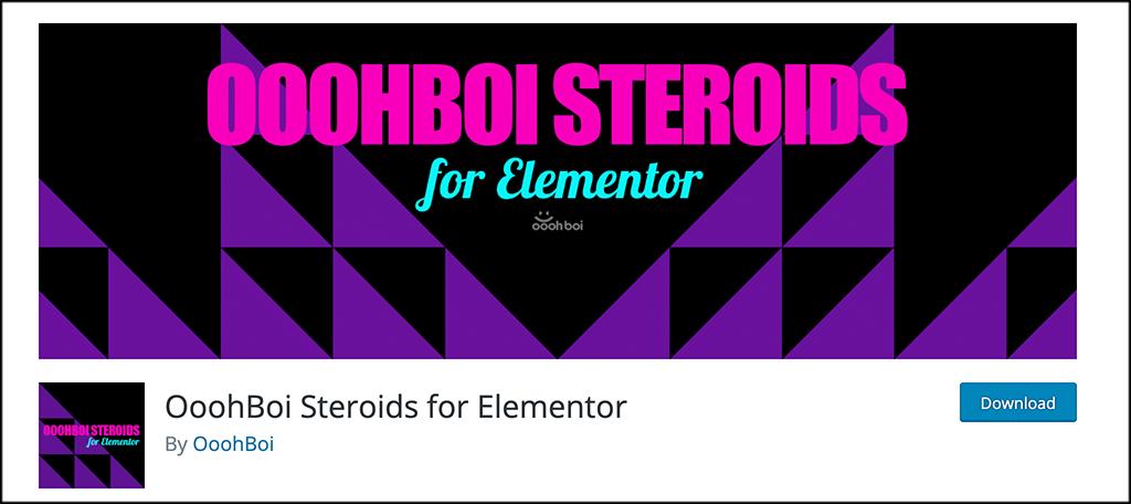 OoohBoi Steroids plugin