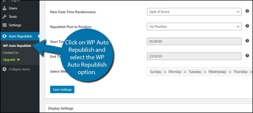 WP Auto Republish