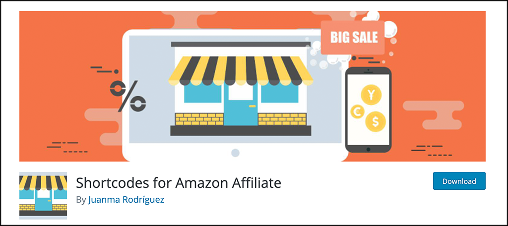 Shortcodes for Amazon Affiliate plugin
