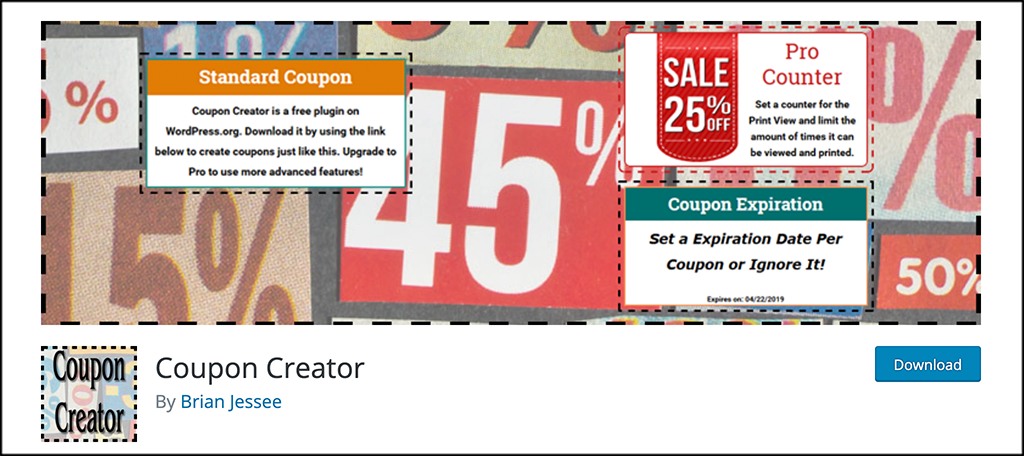 Coupon Creator plugin