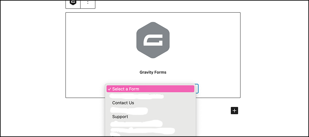 Add correct form
