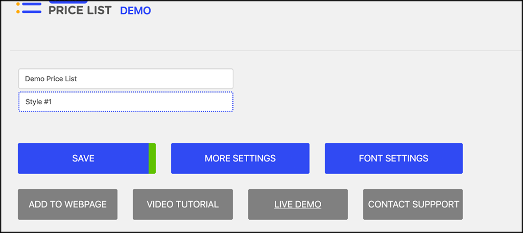 Click more settings button