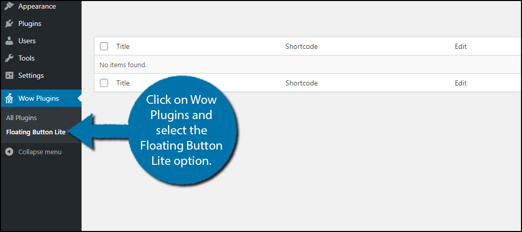 Floating Button Lite