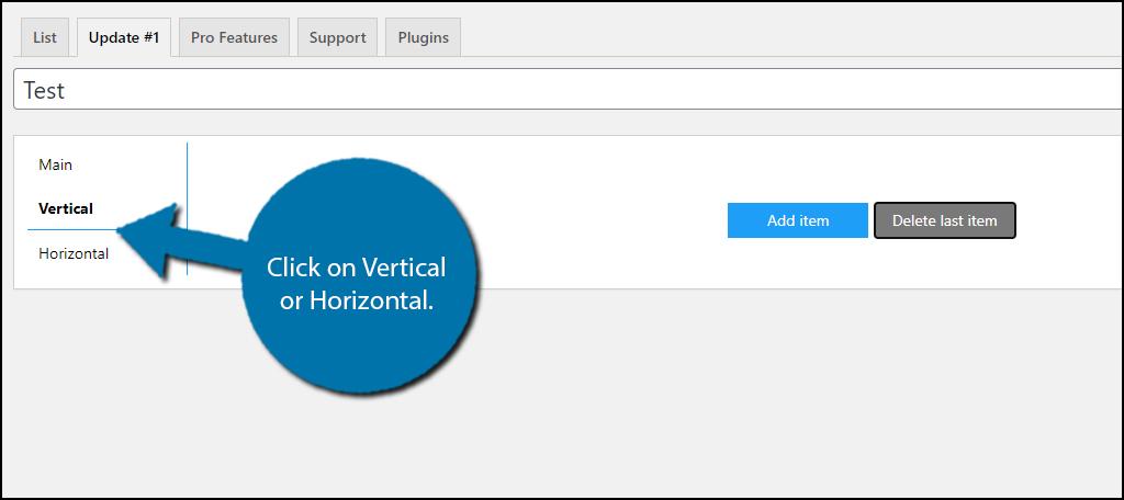 Vertical or Horizontal