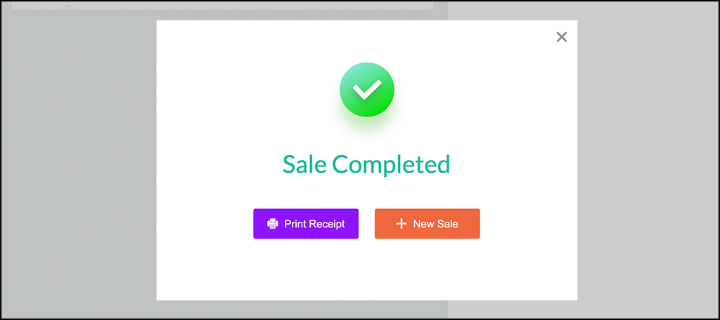 Sale Completed