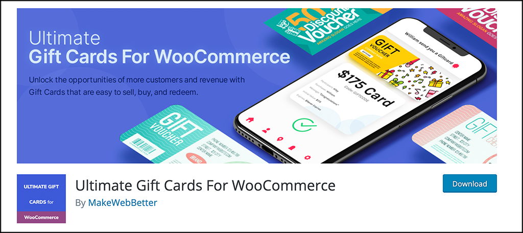 Ultimate Gift Cards For WooCommerce plugin