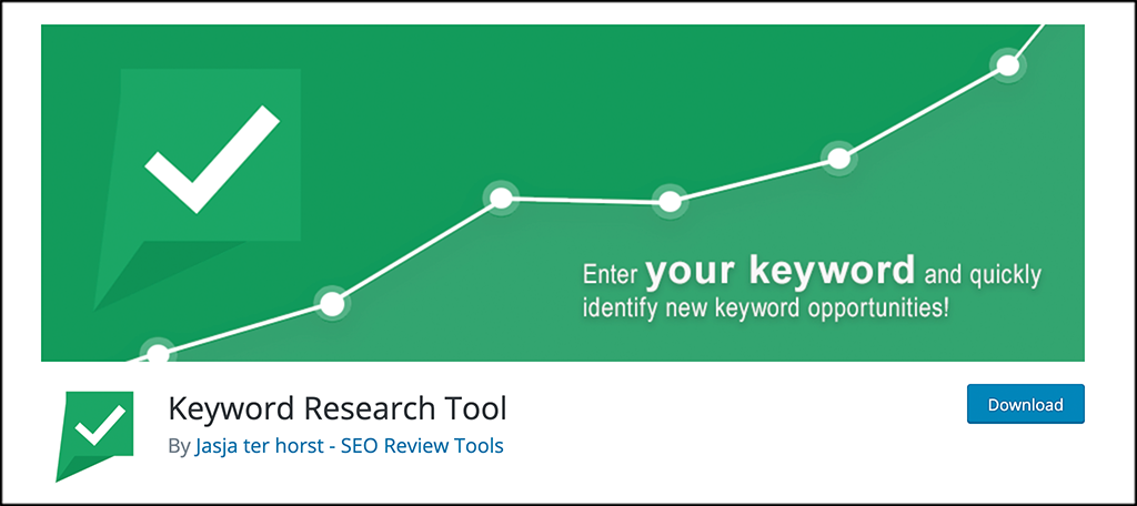 Keyword Research Tool plugin