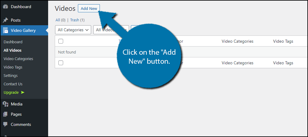 Add New Button