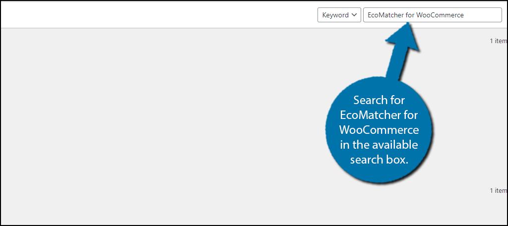 EcoMatcher for WooCommerce