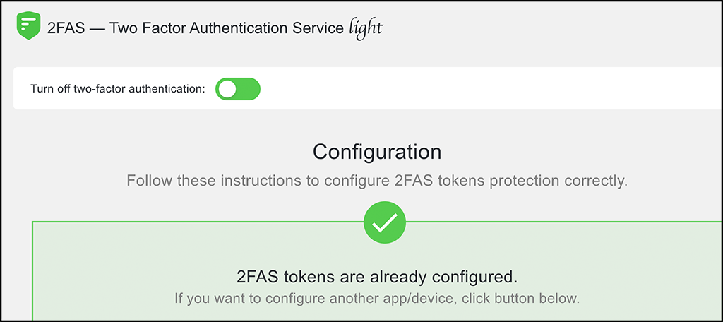 two-factor authentication in wordpress enabled