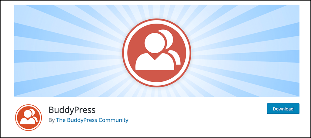 BuddyPress social media website plugin