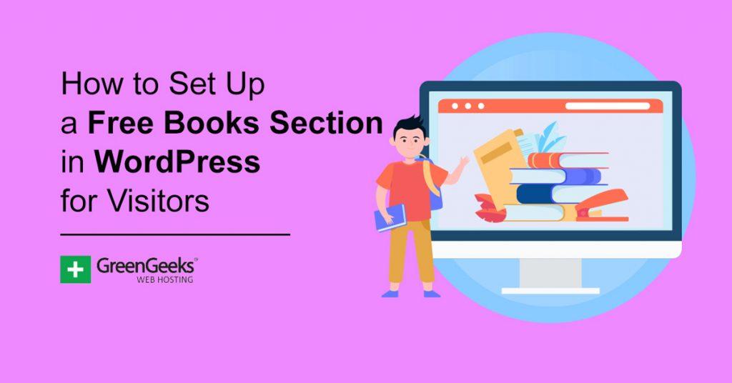 Free Books Section WordPress