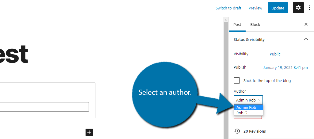 Select Author
