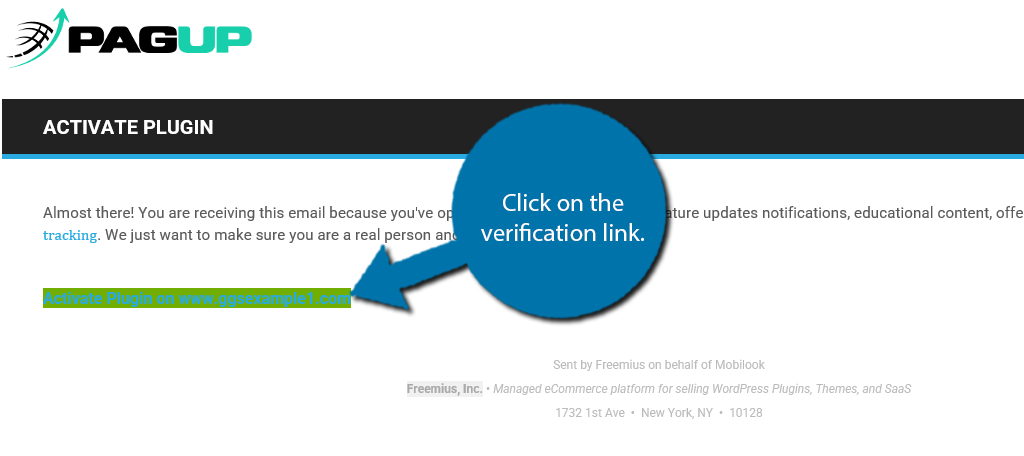 Verification Link