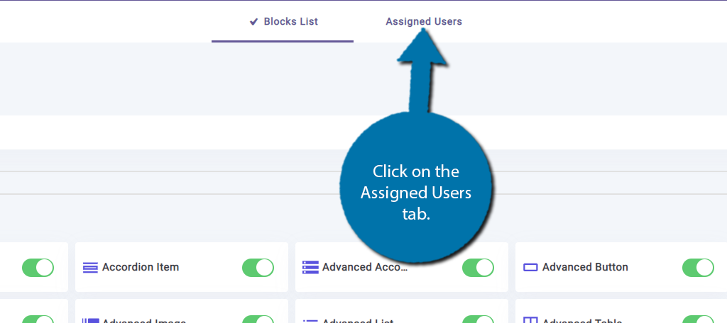 Assigned Users