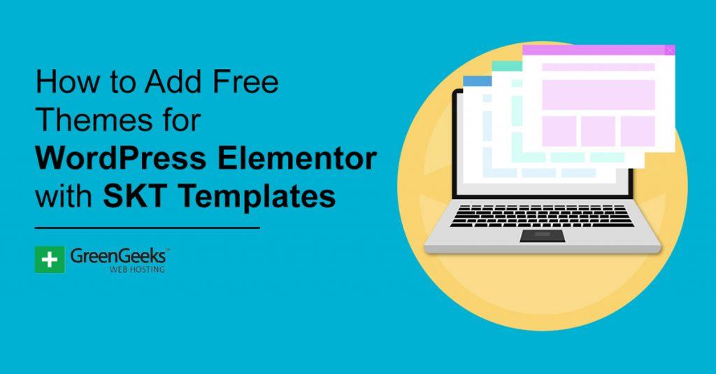 SKT Template WordPress Elementor