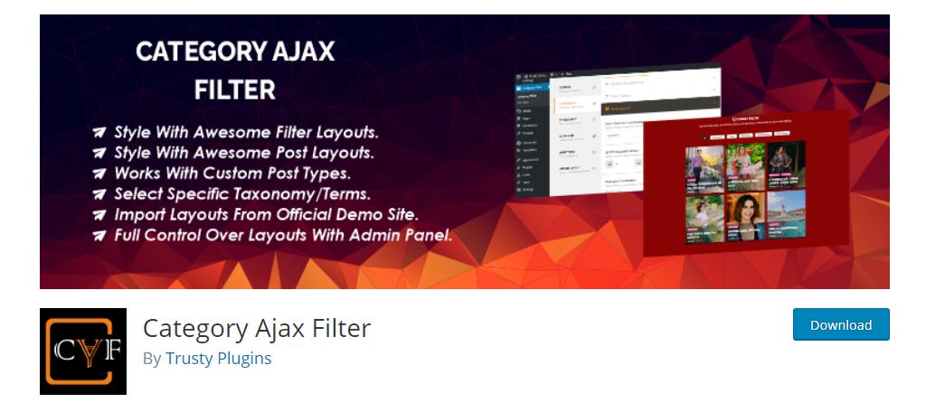 Category Ajax Filter